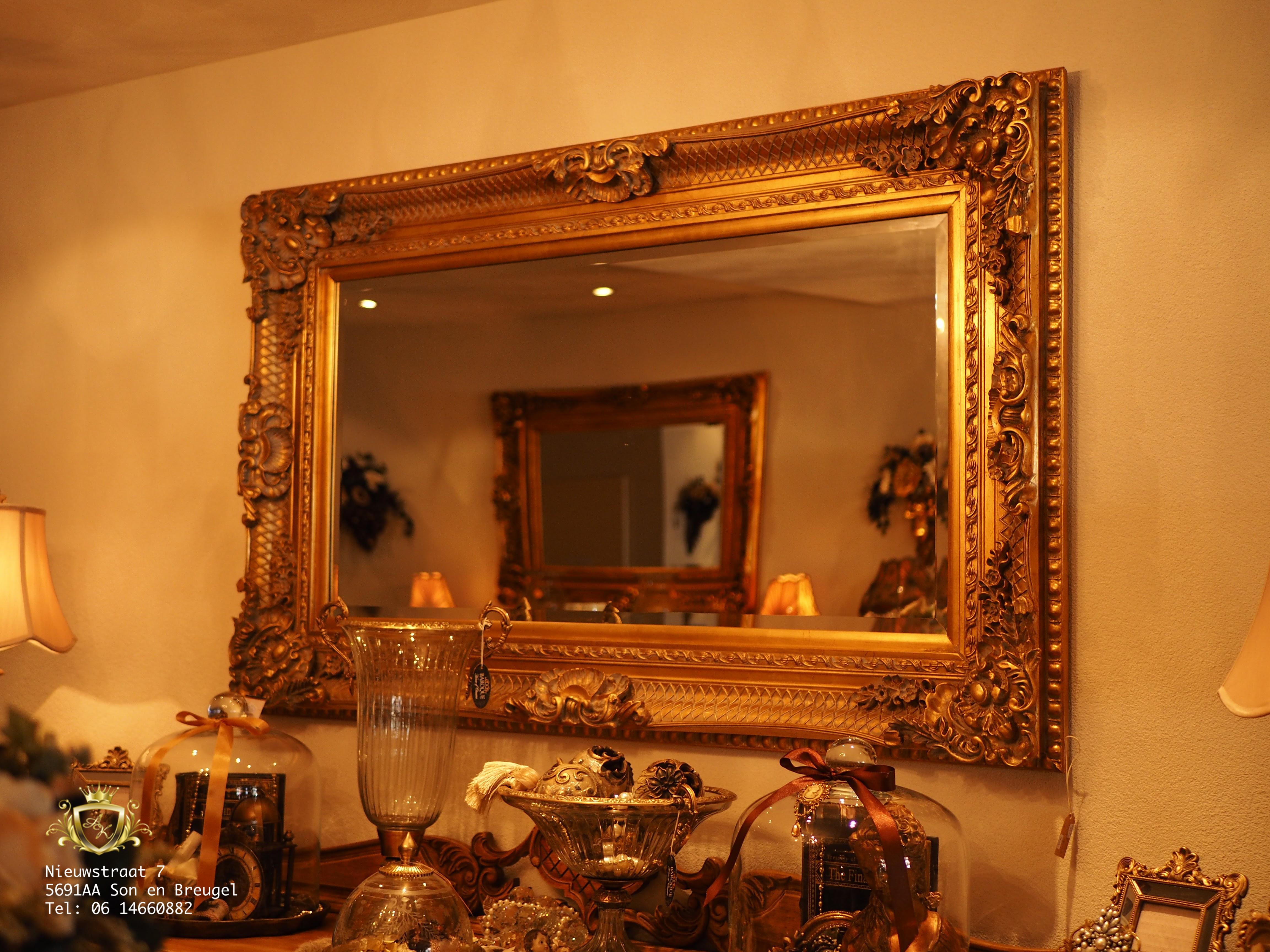Grote Barok Spiegel : Typical english decorations barok spiegel wellicht de grootste