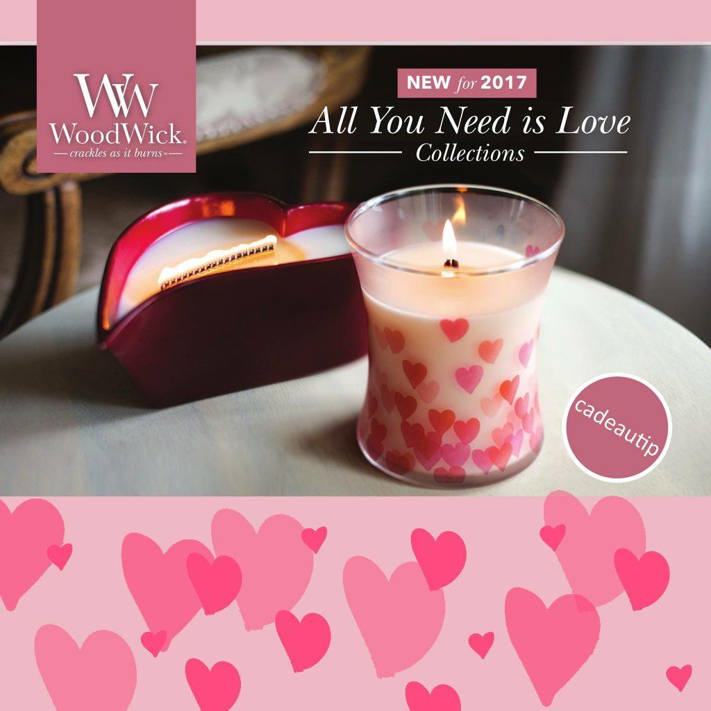 WoodWick Love, de Valentijns kaarsen van 2017