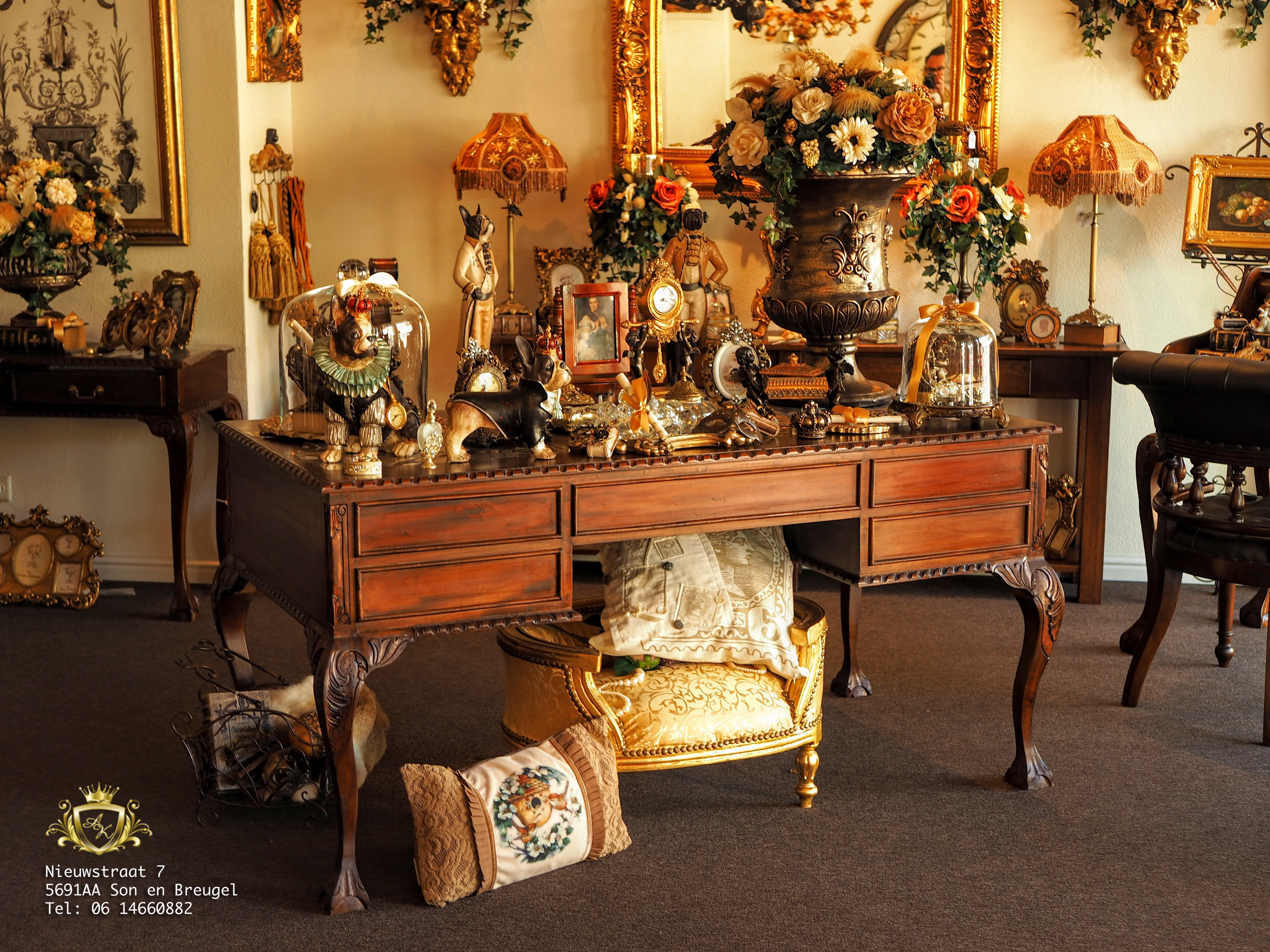 Badkamer Barok Meubels : Exclusieve mahonie barok meubelen angelas kroonjuweeltje